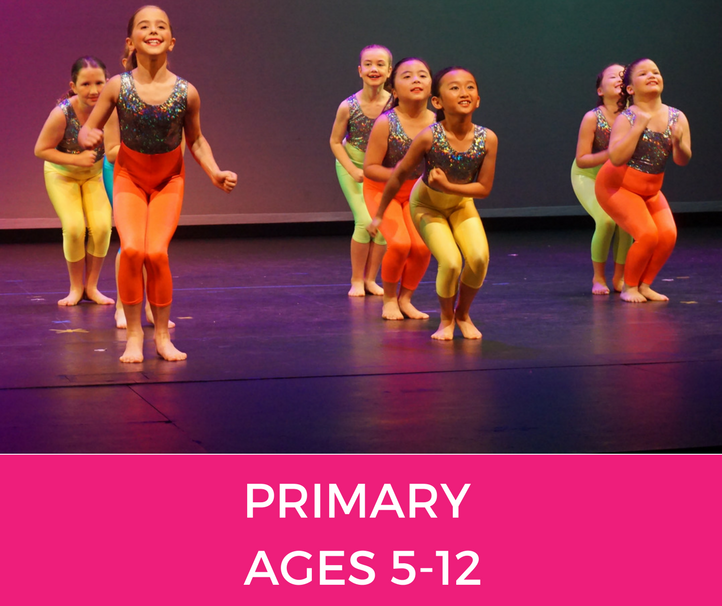 primary Classes at Template Physie - for girls and ladies 3 years old and up